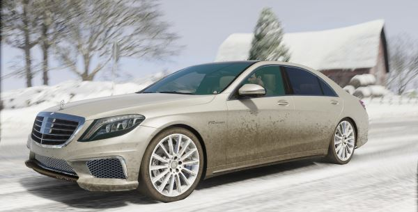 Mercedes-Benz S65 W222 [Add-On / Replace] v 1.1 для GTA 5