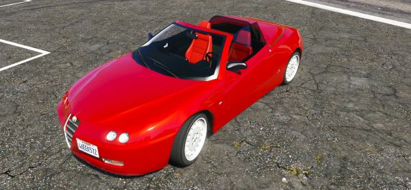 Alfa Romeo Spider 916 [Add-On / Replace] v 1.2 для GTA 5