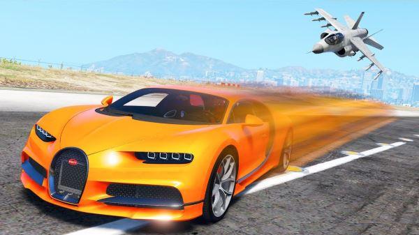2017 Bugatti Chiron [Analog-Digital Dials | Livery] v 1.7 для GTA 5
