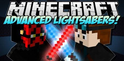 Advanced Lightsaber для Майнкрафт 1.7.10