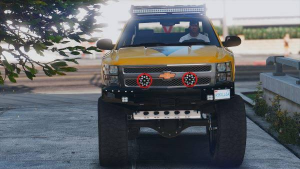Chevrolet Silverado 1500 LTZ [Add-On | Tuning] для GTA 5