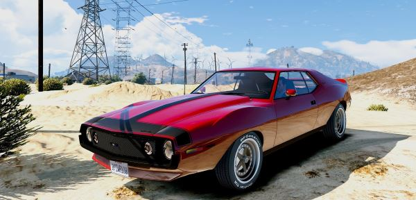 AMC Javelin AMX 401 1971 [Add-On / Replace] для GTA 5