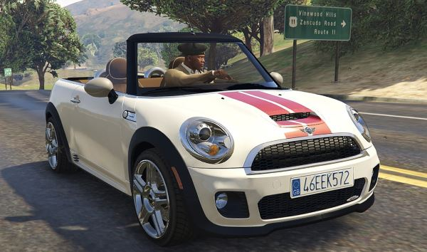 Mini JCW R57 Convertible (2in1) [Add-On | Tuning | Livery] v 1.5 для GTA 5