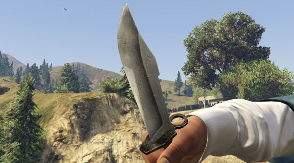 S.T.A.L.K.E.R. Knife [Add-On / Replace] для GTA 5