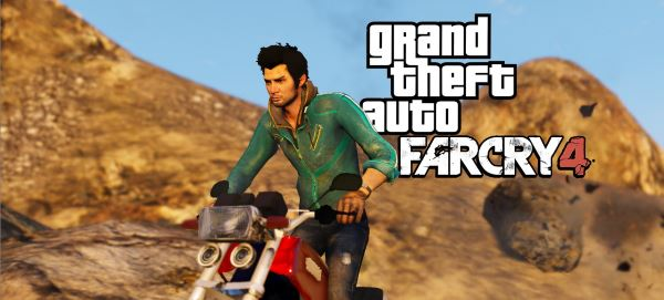 Ajay Ghale from FarCry4 [Add-On Ped] для GTA 5