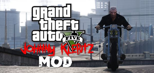 Johnny Klebitz [Add-On] v 1.1 для GTA 5