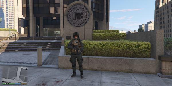 FIB SWAT Operator для GTA 5