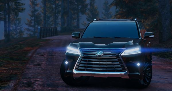 Lexus LX570 2016 [Replace] для GTA 5