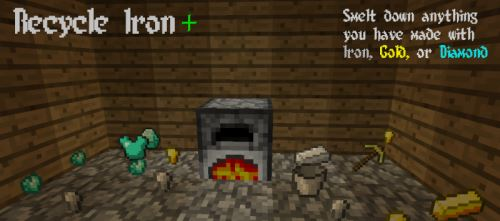 Recycle Iron для Майнкрафт 1.10.2