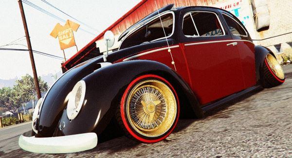 Volkswagen Beetle v 2.0 для GTA 5