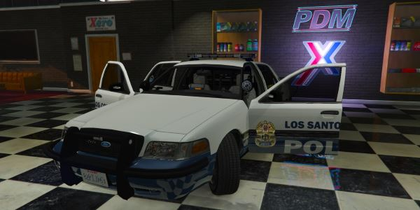2011 Ford Crown Victoria Police Interceptor - K-9 Unit для GTA 5