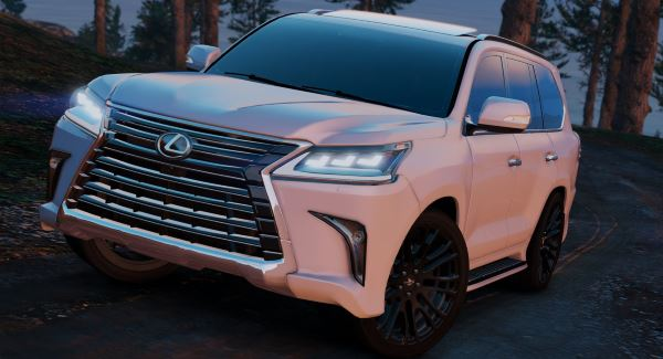 Lexus LX570 2016 [Replace] v 1.1 для GTA 5