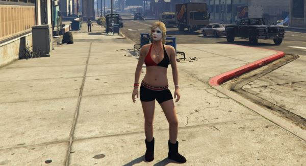 Harley Quinn Tracey - 3 Versions для GTA 5