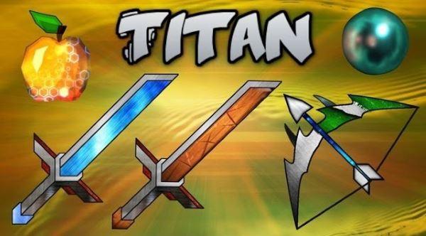 ANIMATED Titan PvP для Майнкрафт 1.10.2