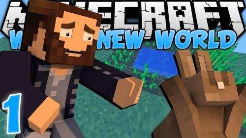 New World для Майнкрафт 1.10.2