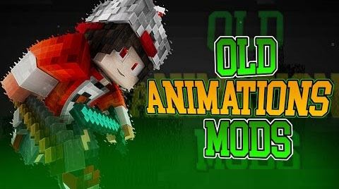 Old Animations для Майнкрафт 1.8.9