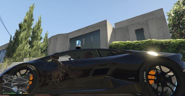 Lamborghini Huracan Kripo Polizei для GTA 5