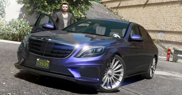 Mercedes-Benz S65 W222 [Add-On / Replace] v 1.4 для GTA 5