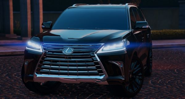 Lexus LX570 2016 [Add-On / Replace] v 1.2 для GTA 5