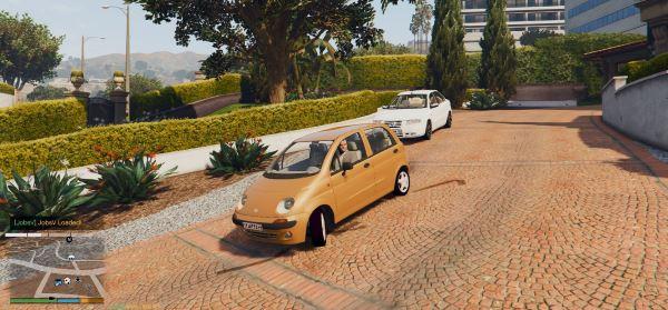 Daewoo Matiz для GTA 5