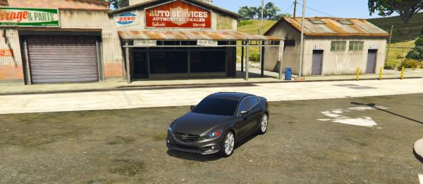 2016 Mazda 6 для GTA 5
