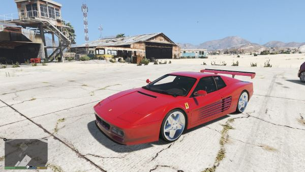 Ferrari Testarossa 512 (1991) [Add-On] для GTA 5