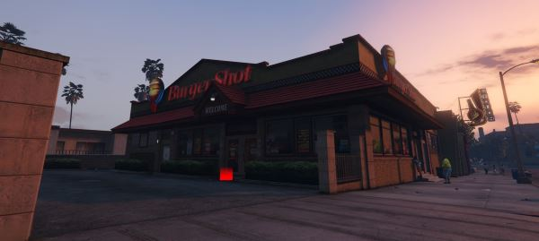 Working Burger Shot v 1.1 для GTA 5