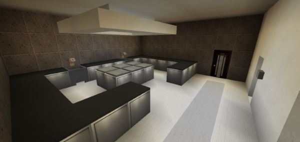 Modern Restaurant and Lounge для Майнкрафт 1.10.2