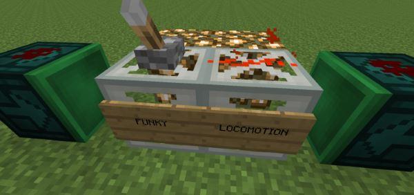 Funky Locomotion для Майнкрафт 1.10.2
