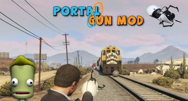 Portal Gun [.NET] 2.3 для GTA 5