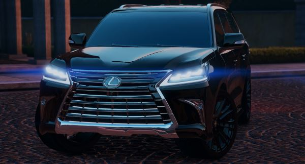 Lexus LX570 2016 [Add-On / Replace] v 1.3 для GTA 5