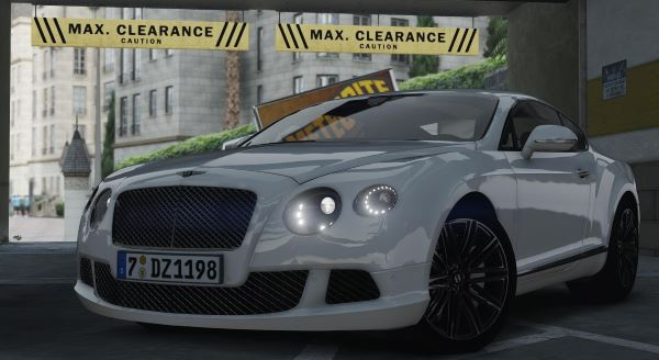 2014 Bentley Continental GT v 1.1 для GTA 5