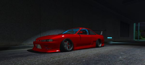 Nissan Silvia S14 v 1.4 для GTA 5
