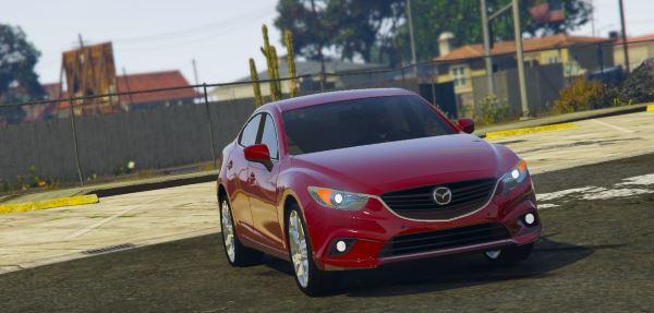2015 Mazda 6 для GTA 5