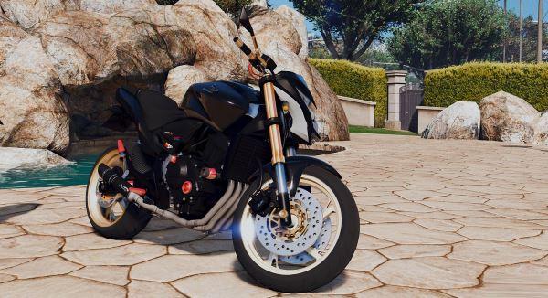 Honda CB 600F Hornet для GTA 5