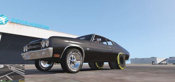 1970 SS Drag Chevelle для GTA 5