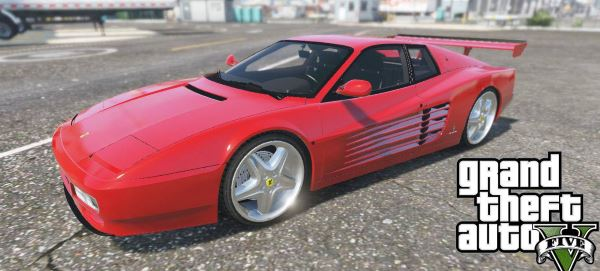 Ferrari Testarossa 512 (1991) [Add-On] v 1.1 для GTA 5