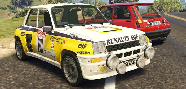 Renault 5 Turbo & Rally (2in1) [Add-On / Replace | Tuning | Livery] v 1.5 для GTA 5