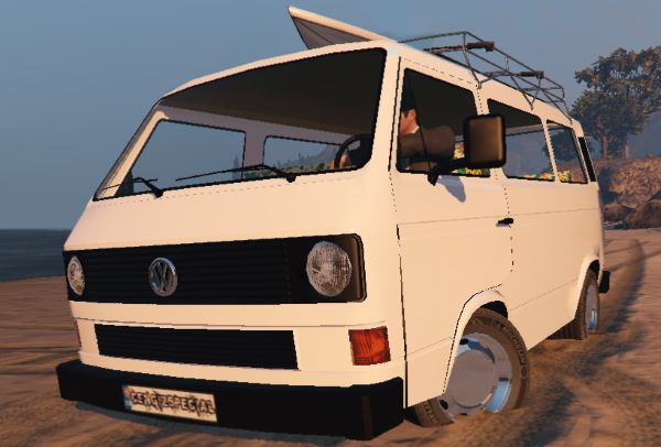 Volkswagen Transporter T3 (1979) [Add-On / Replace] для GTA 5