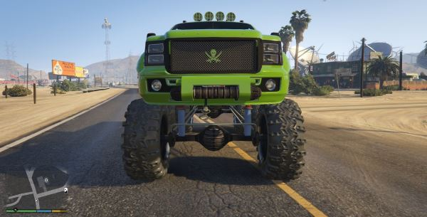 Sandking HD Monster Dually для GTA 5