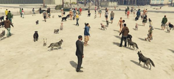 Pet Lovers v 1.1 для GTA 5