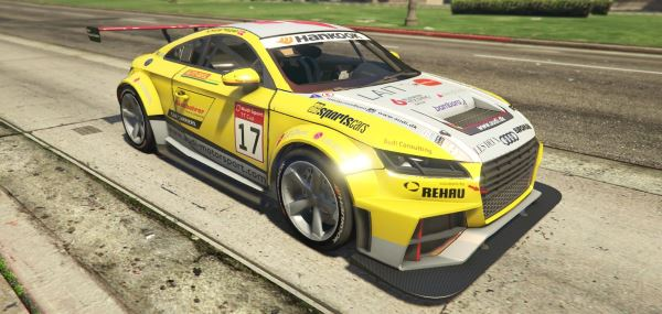 2015 Audi TT Cup [Add-On / Replace | Livery] для GTA 5