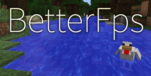BetterFps для Майнкрафт 1.11