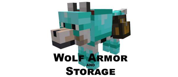 Wolf Armor and Storage для Майнкрафт 1.10.2