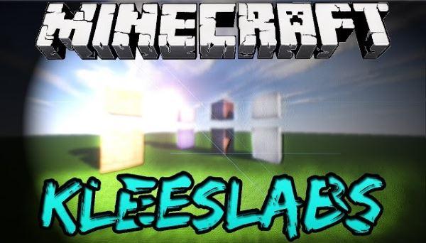 KleeSlabs для Майнкрафт 1.11