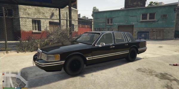 Lincoln Town Car 1991 для GTA 5