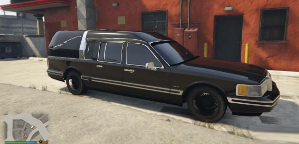 Lincoln Town Car Hearse 1991 для GTA 5