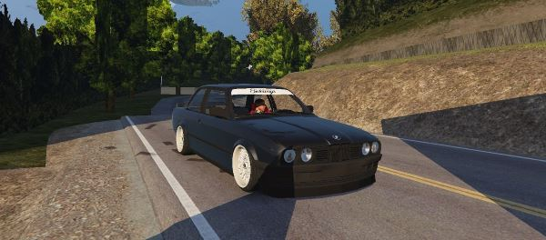 BMW E30 Drift для GTA 5