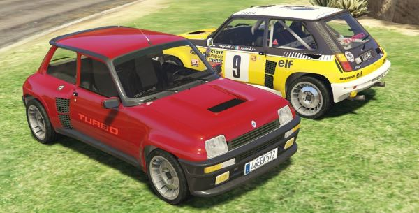 Renault 5 Turbo & Rally (Renewal 2in1) [Add-On / Replace | Tuning | Livery] v 2.0 для GTA 5