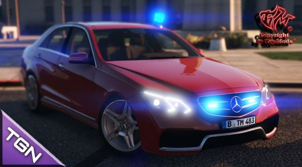 Mercedes-Benz E63 AMG Kripo Hänsch Movia LED для GTA 5